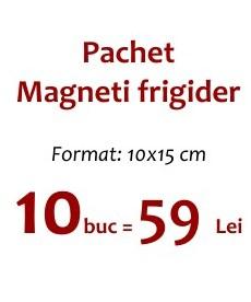 Pachet 10 Magneti Frigider 10x15 cm