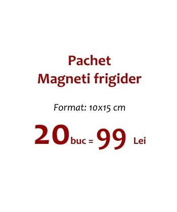Pachet 20 Magneti Frigider 10x15 cm