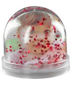 Glob Foto Oval Personalizat
